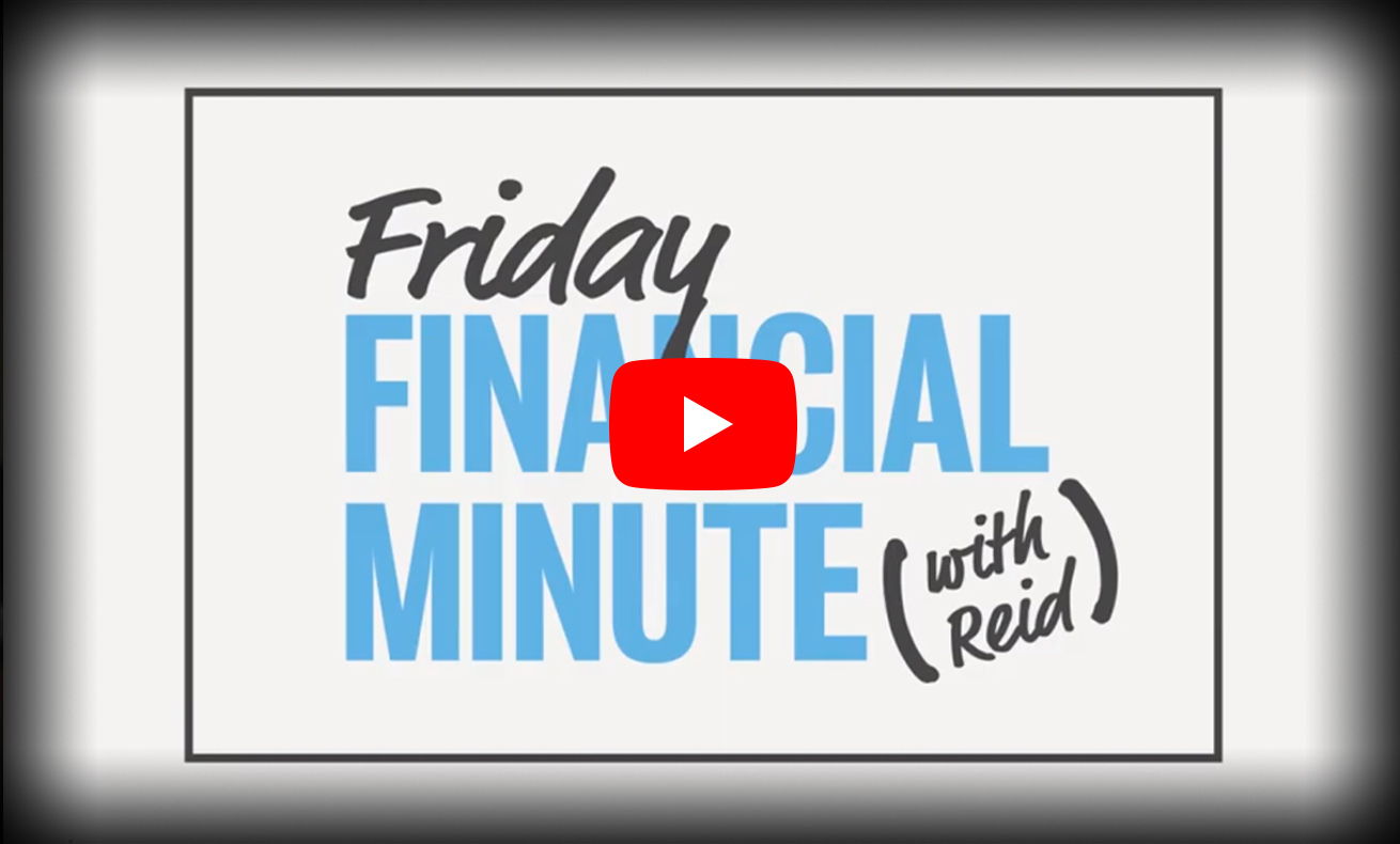A thumbnail for a Friday Financial Minute video.