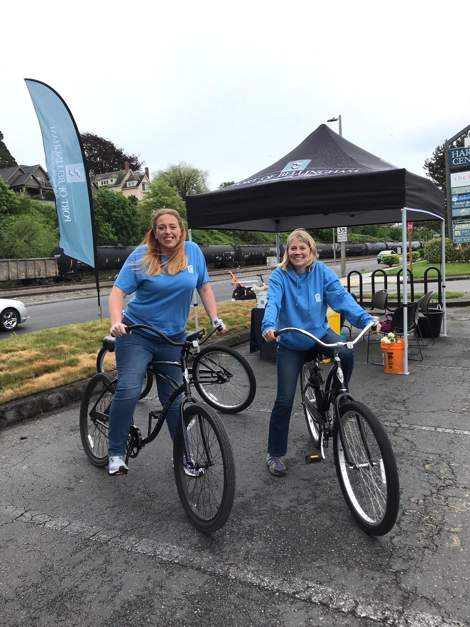 Team WECU Volunteers at the 2019 Bike to Work Day.