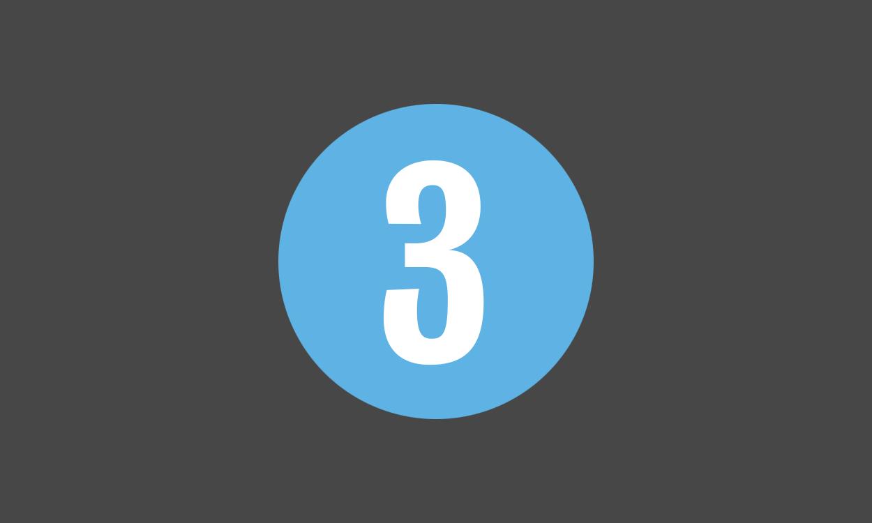 Icon, three.