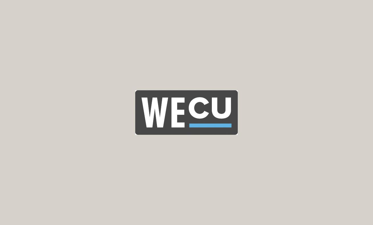 WECU logo.
