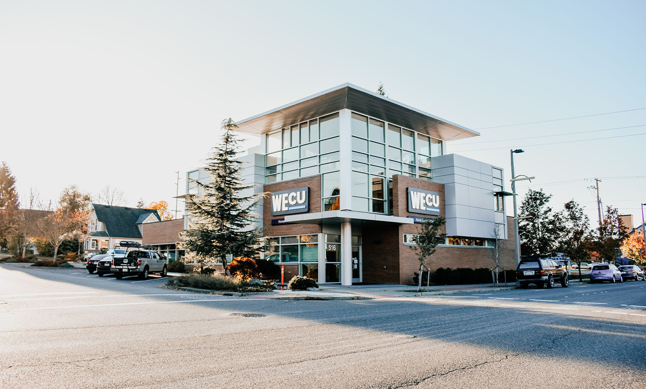 Picture of the WECU Real Estate Lending Center.